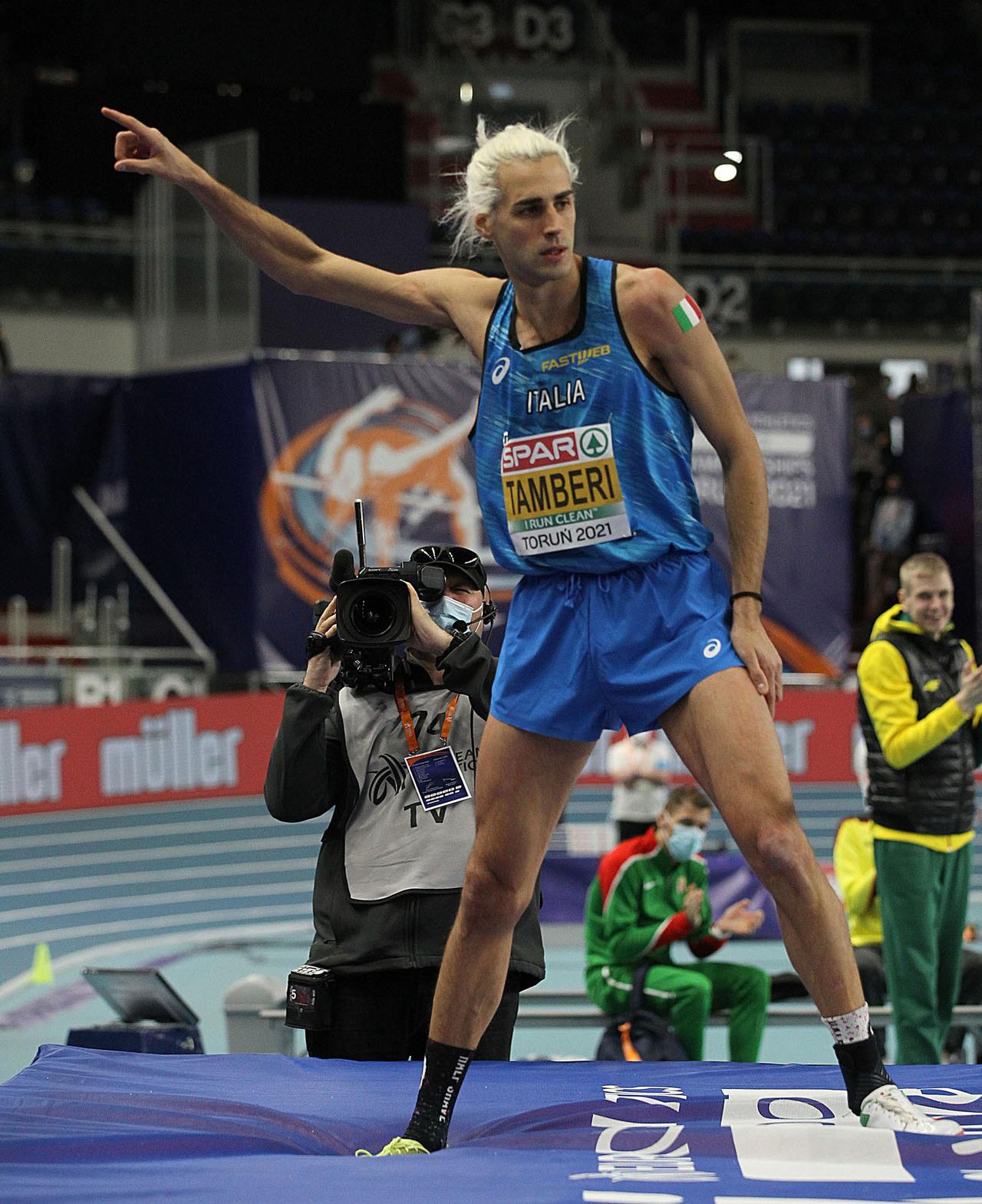 Tamberi a Firenze sfida anche Barshim al Golden Gala: «Un altro salto verso  le Olimpiadi»