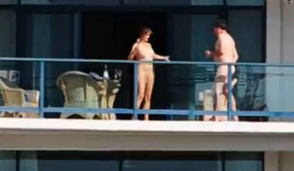 Fanno sesso sul balcone al sesto piano di giorno, filmati e multati ...