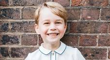 George compie 5 anni, festa