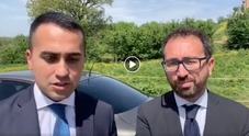 Di Maio, incidente d'auto