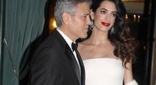 George Clooney e Amal,