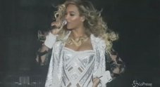 Beyonce in tour, sexy star accende il fuoco a Birmingham/Video