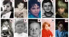 Dieci famosi attori italiani da bambini: riuscite a riconoscerli tutti?