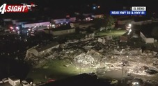 Tornado spazza via