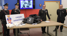 Sequestrati 10 chili di marijuana