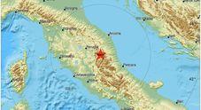 Terremoto, ancora scosse nella notte nella zona di Ussita e in Calabria