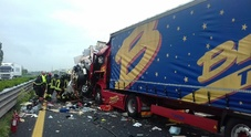 Spaventoso incidente in A23