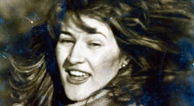 Un'immagine giovanile di Dina Canepari