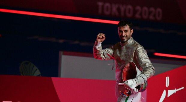 Luigi Samele, medaglia d'argento nella sciabola a Tokyo 2020: «Un bel regalo di compleanno»