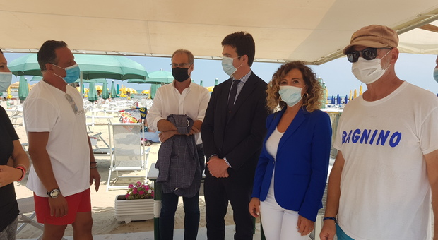 I danni della tromba marina: Acquaroli incontra gli operatori danneggiati e si discute dello stato di emergenza