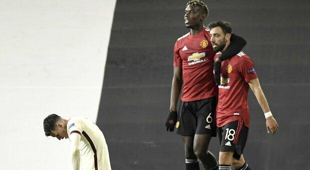 Manchester United-Roma dalle 21 diretta: è la notte della semifinale
