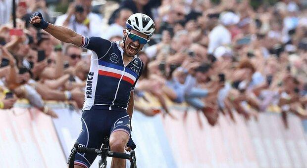 Mondiali ciclismo: bis di Julian Alaphilippe a Lovanio, chiude decimo Colbrelli