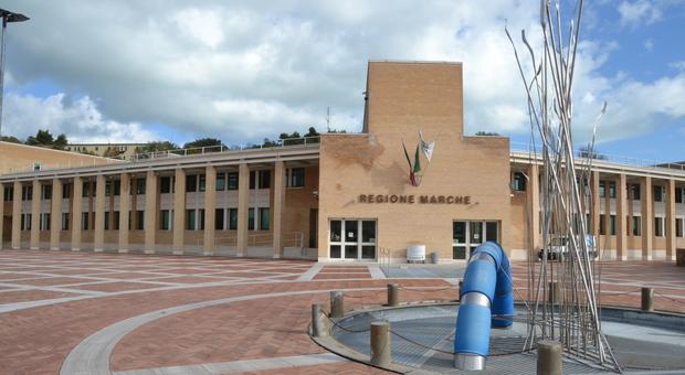 La sede del consiglio regionale delle Marche ad Ancona