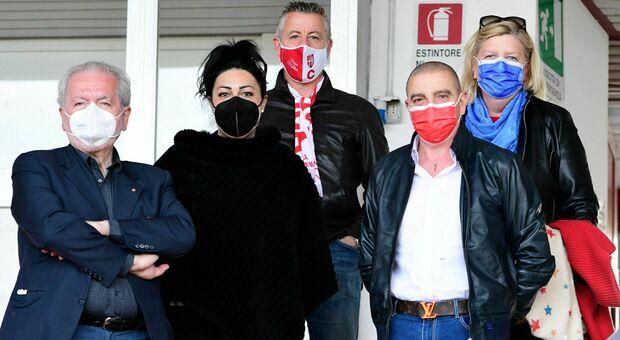 Francesco Ghirelli, Roberta Nocelli e il presidente Mauro Canil in prima fila