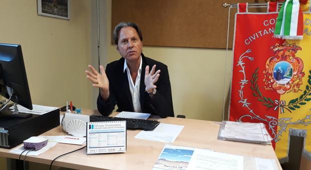 assessore comunale all'ambiente e al decoro urbano Giuseppe Cognigni