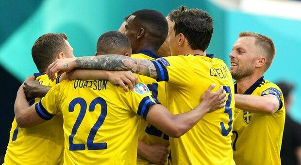 Svezia-Slovacchia 1-0
