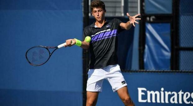 Luca Nardi fuori al secondo turno al Roland Garros juniores