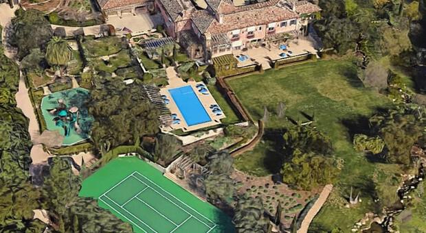 La villa di Meghan e harry in California