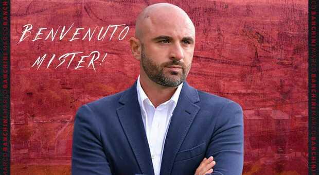 Marco Banchini, 40 anni, nuovo allenatore della Vis Pesaro