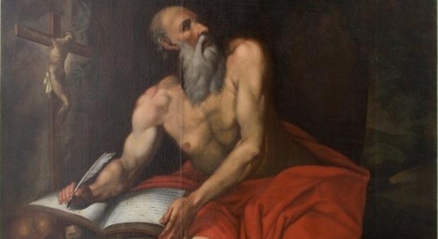 Il San Girolamo recuperato a Camerino