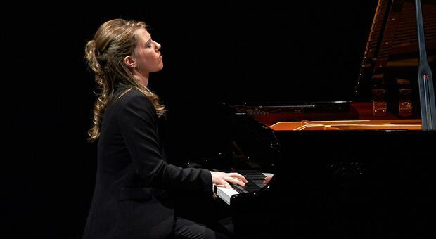 La pianista Ottavia Maria Maceratini