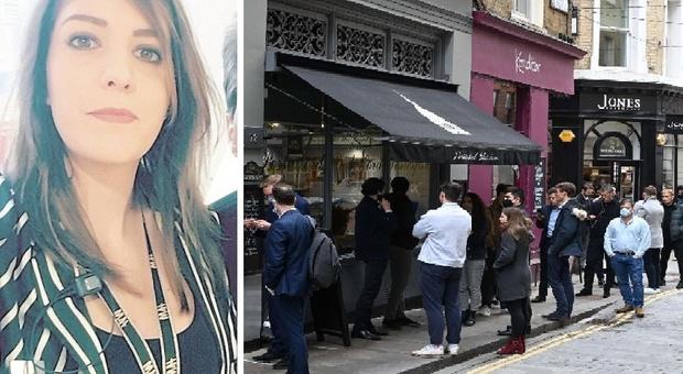 Fermo, Sara racconta la sua Londra libera dall'incubo Covid: «Ma l'inizio dlla pandemia è stato drammatico»