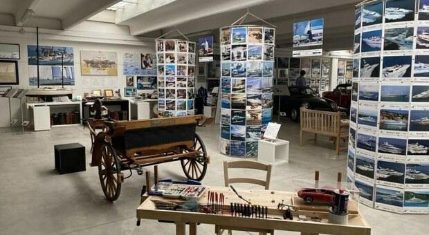 Il Norberto Ferretti Museum si trova a Misano e racchiude la vita del fondatore della Ferretti Group