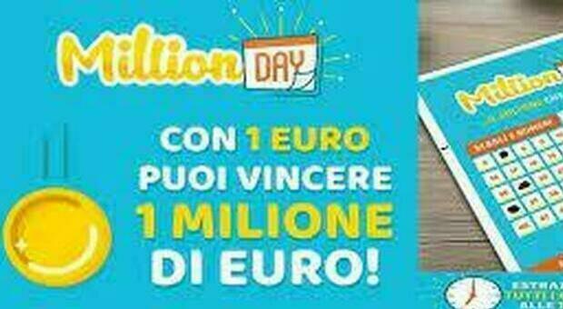 Million Day, l'estrazione dei numeri vincenti di oggi 18 giugno 2021