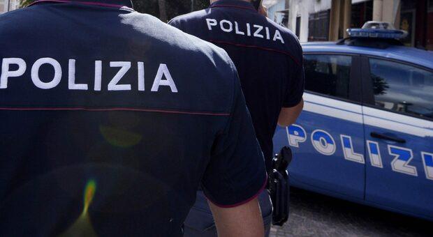 La polizia in azione, foto generica