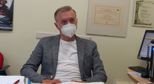 Giuseppe Ciarrocchi, direttore del Dipartimento di prevenzione e coordinatore delle vaccinazioni dell Area vasta 4 dell'Asur Marche