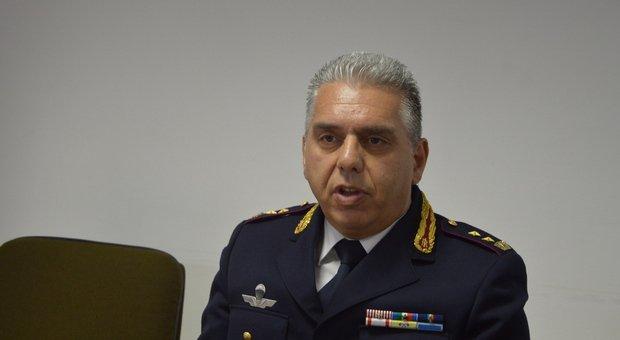 Il dottor Carlo Pinto, capo della Squadra mobile di Ancona