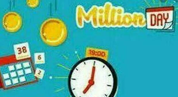 Million Day, estrazione dei numeri vincenti di oggi giovedì 3 giugno 2021