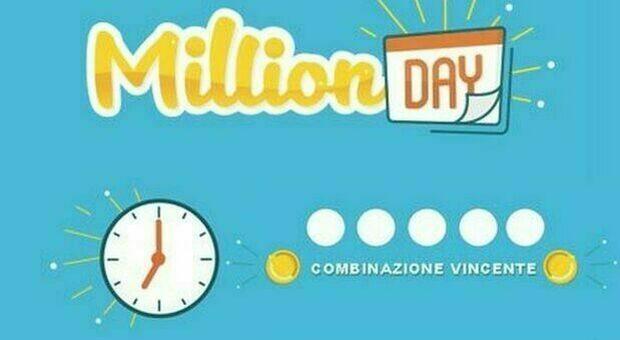 Million Day, i numeri vincenti di giovedì 25 febbraio 2021