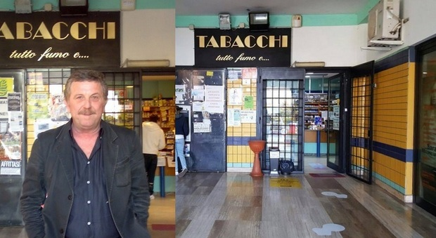 Marco Di Pinto, il tabaccaio di Latina ha subito 24 furti