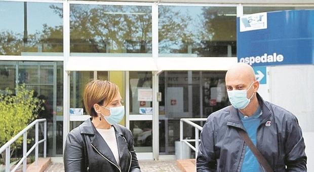 Fossombrone, centro vaccinale all'ospedale, manca solo l'ok dell'Asur: «É perfetto, qui c'è anche il magazzino delle dosi anti Covid»