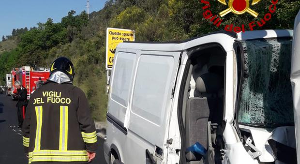 L'incidente a San Severino