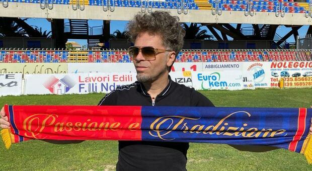 Domenico Serafino, produttore musicale calabrese e presidente della Samb