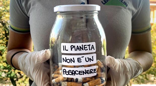 Leroy Merlin contribuisce a liberare Ancona dai mozziconi di sigaretta: ecco quando e tutto il programma