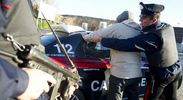 Carabinieri in azione, foto generica