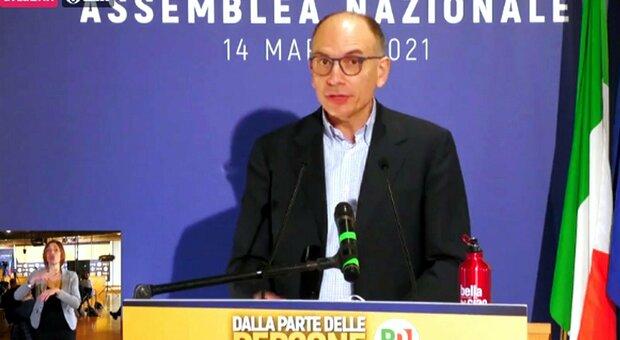 Enrico Letta eletto segretario Pd: «Battaglia sul voto ai 16enni e ius soli». E apre ai 5S di Conte