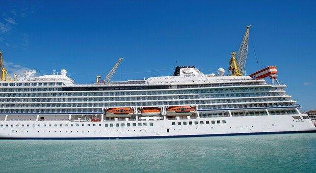"""Consegnata nello stabilimento di Ancona """"Viking Venus"""": è la nuova nave da crociera di Fincantieri"""