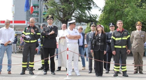 Pesaro, castello di manovra dei vigili del fuoco: scoperta ...