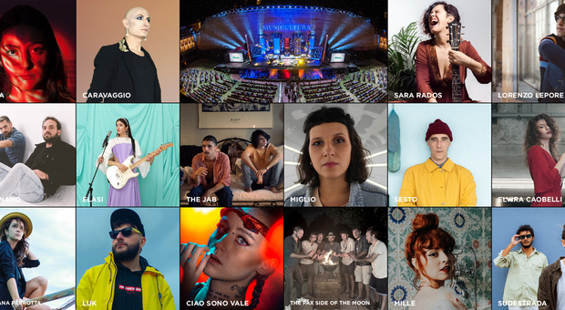 I 16 finalisti di Musicutlura