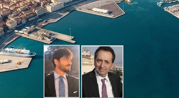Il porto di Ancona, Matteo Africano e Francesco Messineo