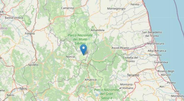Scossa di terremoto con epicentro vicino ad Arquata del Tronto: torna la paura