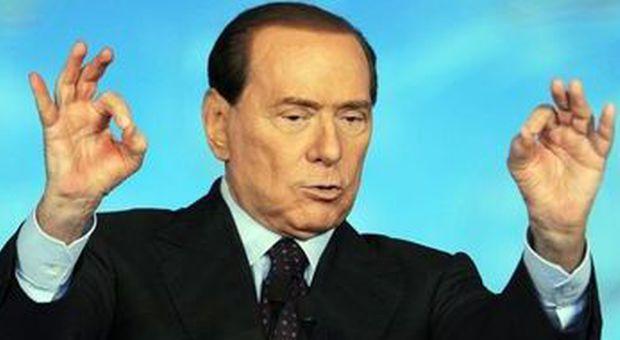 Silvio Berlusconi (foto Daniel Dal Zennaro - Ansa)