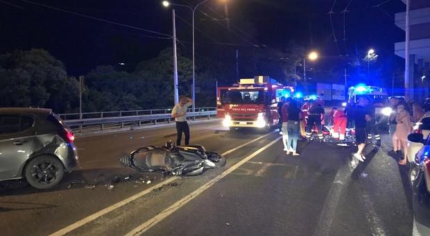 L'incidente da brividi in via Bocconi