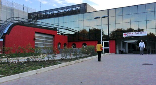 L'ospedale di Fabriano
