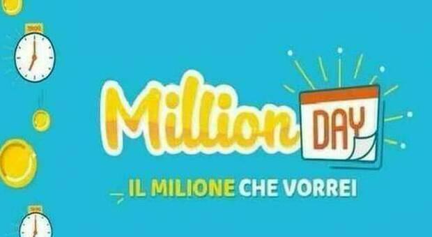 Million Day, i cinque numeri vincenti di oggi martedì 19 gennaio 2021