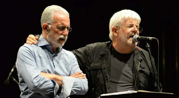 Francesco Scarabicchi con Gastone Pietrucci